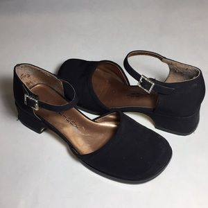 Sam & Libby Black Shoes Girls Size 13.5 READ
